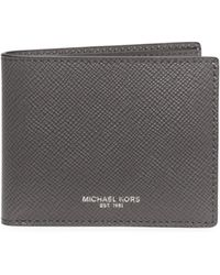 Michael Kors - Harrison Slim Billfold Wallet - Lyst