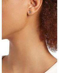 Ileana Makri Rainbow Lollipop 18kplated & Zircon Stud Earrings - Metallic
