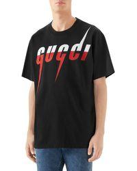Gucci Black Logo T-shirt