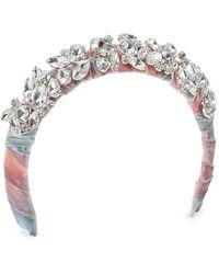 Lelet Rocky Candy Tie-dye Velvet Headband - Multicolor