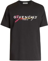 Givenchy Degrade Signature Regular-fit T-shirt - Black