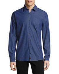 Strellson - Sidney Cotton Button-down Shirt - Lyst