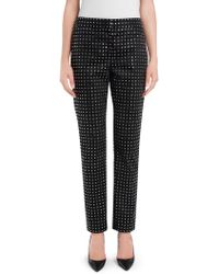 Moschino | Studded Satin Pants | Lyst