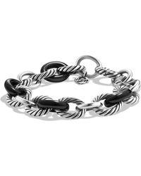 David Yurman Oval Large Link Bracelet - Multicolour