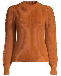 525 America - Cable-knit Sweater - Lyst