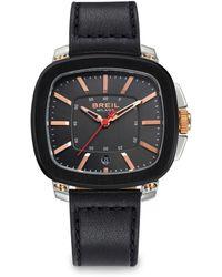 Breil - Three-hand Stainless Steel Watch - Lyst