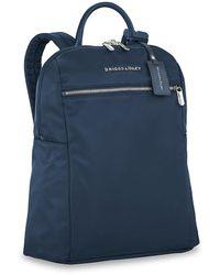 Briggs & Riley Rhapsody Slim Backpack - Blue