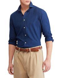 Polo Ralph Lauren - Brownstone Button-up Denim Shirt - Lyst