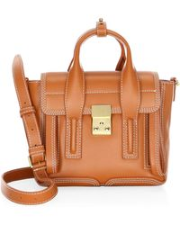 3.1 Phillip Lim - Mini Pashli Leather Satchel - Lyst