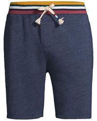 Sol Angeles Tahoe Drawstring Shorts - Blue