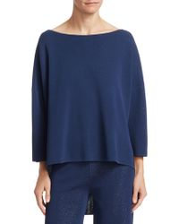 Gentry Portofino - Three Quarter Sleeve Pullover - Lyst