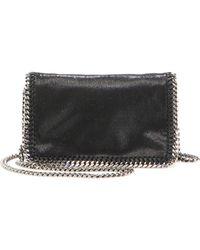 af7e98cddb Stella McCartney - Falabella Faux Leather Fold-over Chain Crossbody Bag -  Lyst