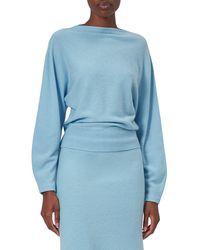 Equipment Suzanna Merino Wool Sweater - Blue