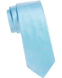 Ike Behar - Microdot Silk Tie - Lyst