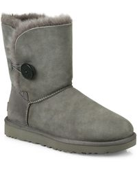 UGG - Classic Bailey Short Button Boots - Lyst