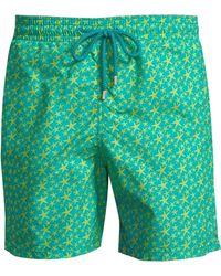 d0db6a915d Vilebrequin - Men's Starletters-print Boardshorts - Vert Veron - Size Large  - Lyst
