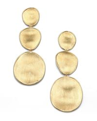 Marco Bicego - Lunaria 18k Yellow Gold Drop Earrings - Lyst