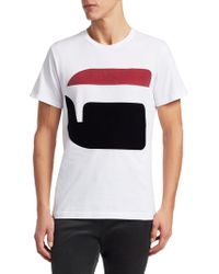 G-Star RAW - Bett Graphic T-shirt - Lyst