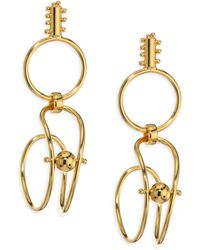 Paula Mendoza - Two-part Drop Earrings - Lyst
