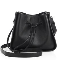 3.1 Phillip Lim - Soleil Mini Leather Drawstring Bucket Bag - Lyst