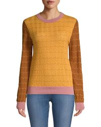 Stine Goya - Naamah Knit Colorblock Jumper - Lyst