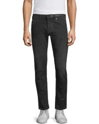 Diesel Black Gold - Dbg Side Stripe Slim-fit Jeans - Lyst