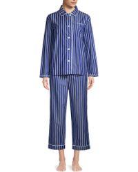 Sleepy Jones - Bishop Stripe Cotton Pajamas - Lyst