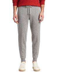 Brunello Cucinelli - Cashmere-blend Sweatpants - Lyst