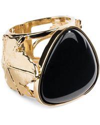Aurelie Bidermann - Vitis Black Agate Ring - Lyst