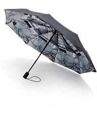 Saks Fifth Avenue Saks-printed Lining Umbrella - Gray