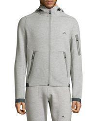 J.Lindeberg - Athletic Hooded Jacket - Lyst