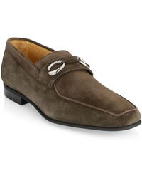 Corthay - Cannes 2 Suede Loafer - Lyst
