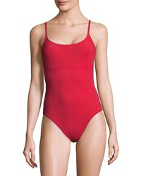 Karla Colletto One-piece Swimsuit - Red
