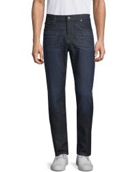 7 For All Mankind - Adrien Clean Pocket Slim Fit Jeans - Lyst