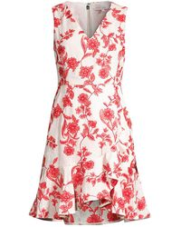 Rebecca Taylor Embroidered Floral Dress