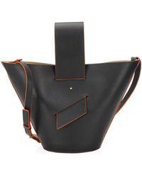 Carolina Santo Domingo - Amphora Leather Bucket Bag - Lyst
