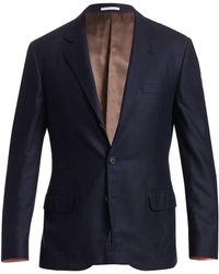 79877fda8e1 Brunello Cucinelli - Men s Cashmere   Silk Blazer - Navy - Size 52 (36)