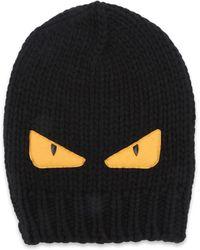 3233c7e393f Lyst - Fendi Wool Hat in Blue for Men
