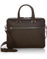 Ferragamo | Revival Leather Briefcase | Lyst