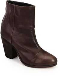 Rag & Bone Classic Newbury Leather Ankle Boots - Brown
