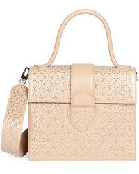 Alaïa Medium Leonie Studded Top Handle Bag - Multicolor