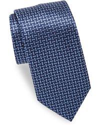 Brioni - Weave Silk Tie - Lyst