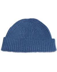 Brunello Cucinelli - Cashmere Beanie Hat - Lyst 960caeeecacd