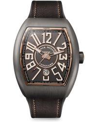 Franck Muller - Vanguard Titanium & Rose Gold Watch - Lyst