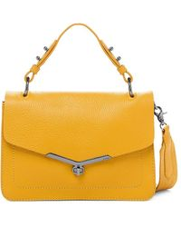 Botkier Valentina Leather Satchel - Yellow