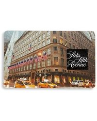 Saks Fifth Avenue New York City Flagship Gift Card - Multicolor