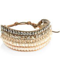 Chan Luu Pyrite Mix Bracelet - Multicolour
