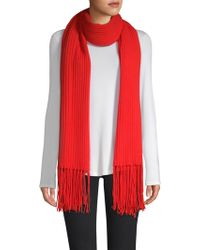 Saks Fifth Avenue - Collection Cashmere Core Rib-knit Scarf - Lyst