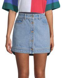 Tommy Hilfiger - Denim Hybrid Mini Skirt - Lyst