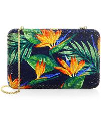Judith Leiber - Bird Of Paradise Clutch - Lyst